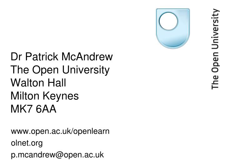 Dr Patrick McAndrew