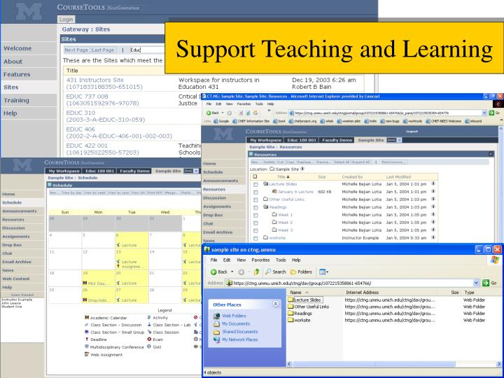 Support Teaching and Learning