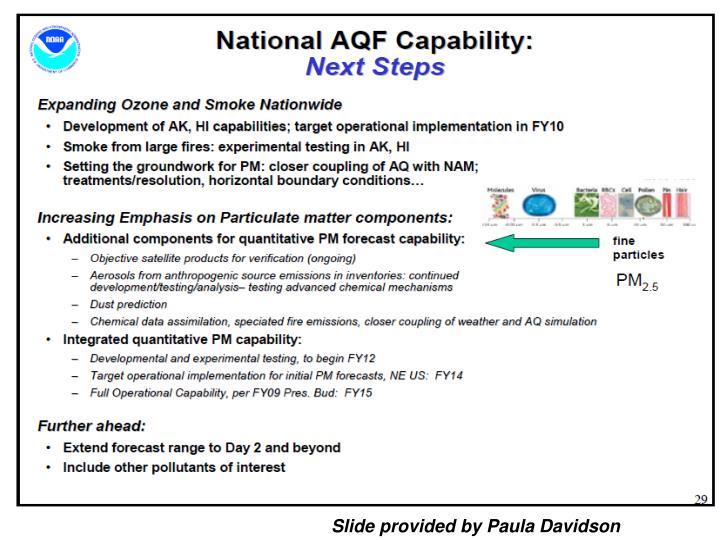 Slide provided by Paula Davidson