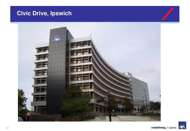 Civic Drive, Ipswich