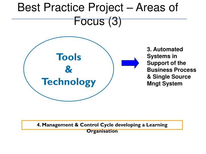 Best Practice Project – Areas of Focus (3)