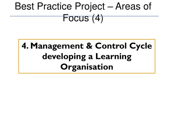 Best Practice Project – Areas of Focus (4)