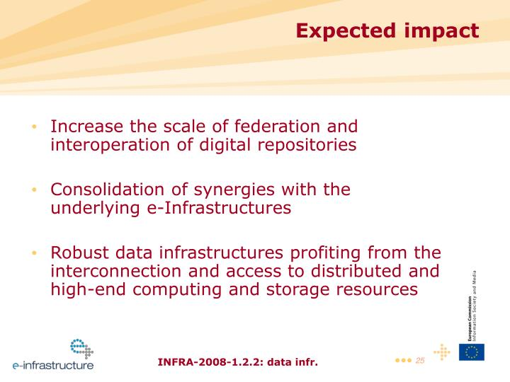 Increase the scale of federation and interoperation of digital repositories