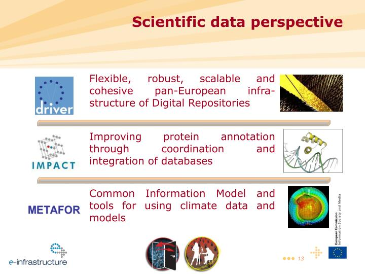 Flexible, robust, scalable and cohesive pan-European infra-structure of Digital Repositories