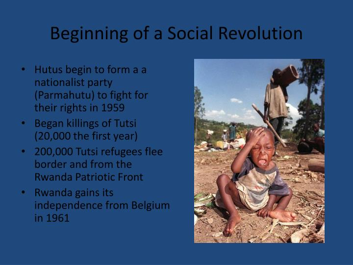 Beginning of a Social Revolution