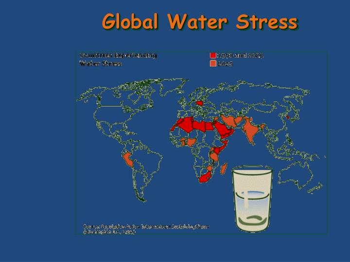 Global Water Stress