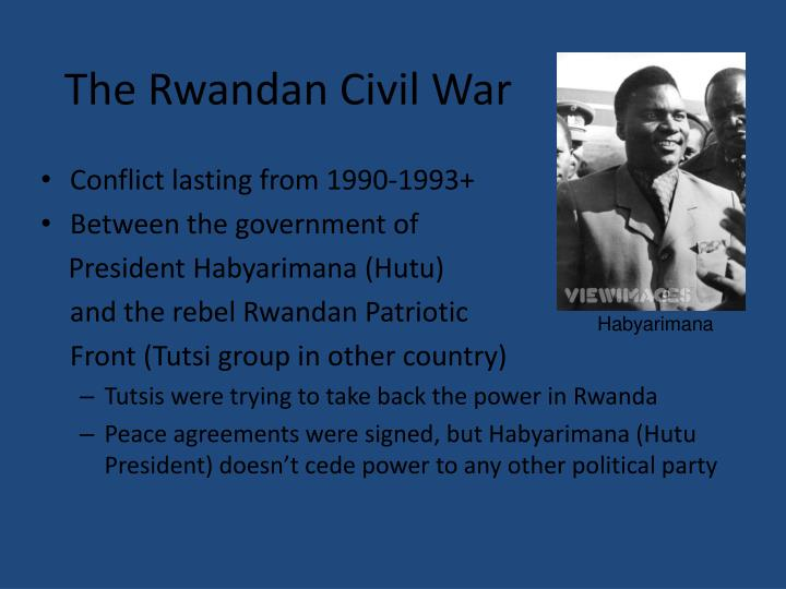 The Rwandan Civil War