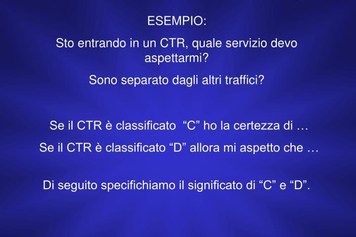 ESEMPIO: