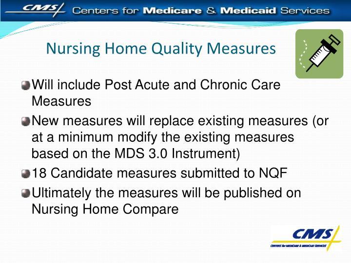 Nursing Home Quality Measures