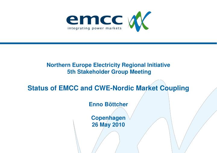 Northern Europe Electricity Regional Initiative
