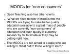 moocs for non consumers