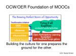 ocw oer foundation of moocs