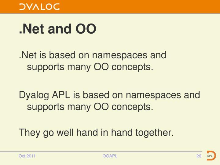 .Net and OO