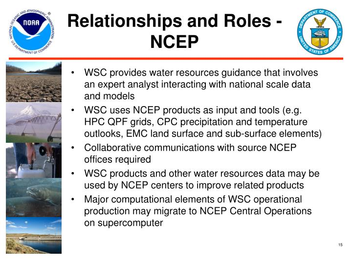 Relationships and Roles - NCEP