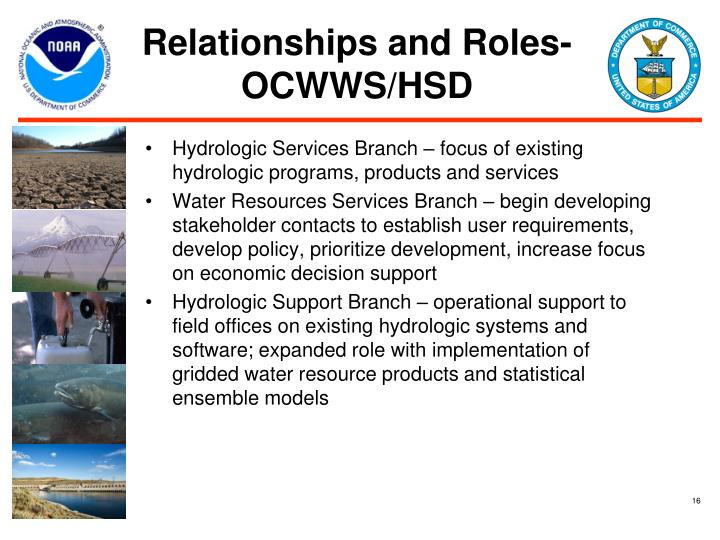 Relationships and Roles- OCWWS/HSD