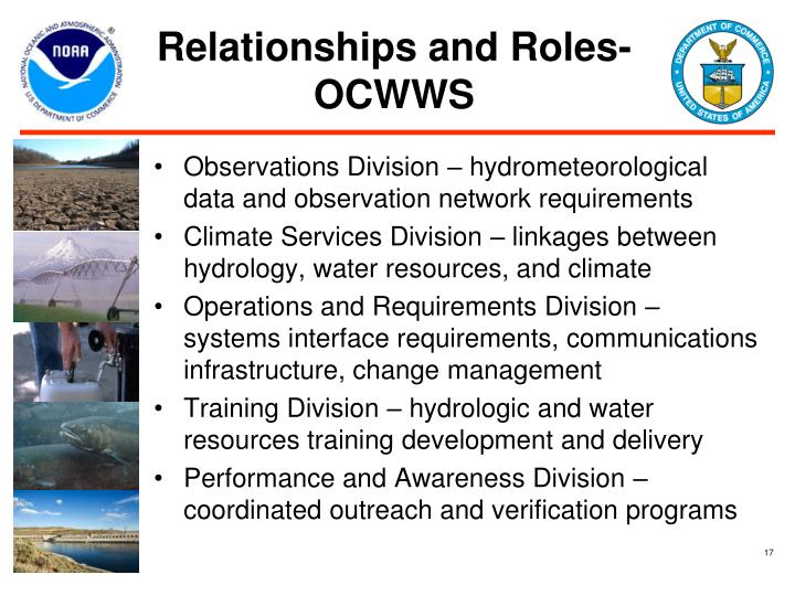 Relationships and Roles- OCWWS