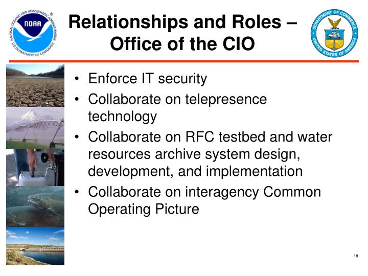 Relationships and Roles – Office of the CIO