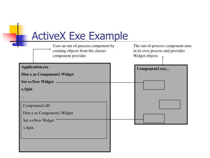 ActiveX Exe Example