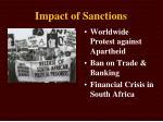 impact of sanctions