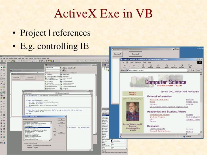 ActiveX Exe in VB