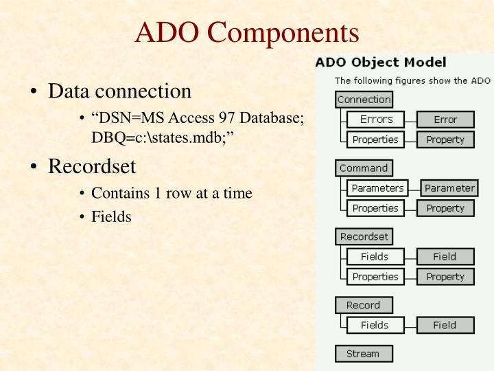 ADO Components