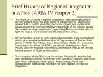 brief history of regional integration in africa aria iv chapter 2