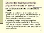 rationale for regional economic integration what are the benefits4