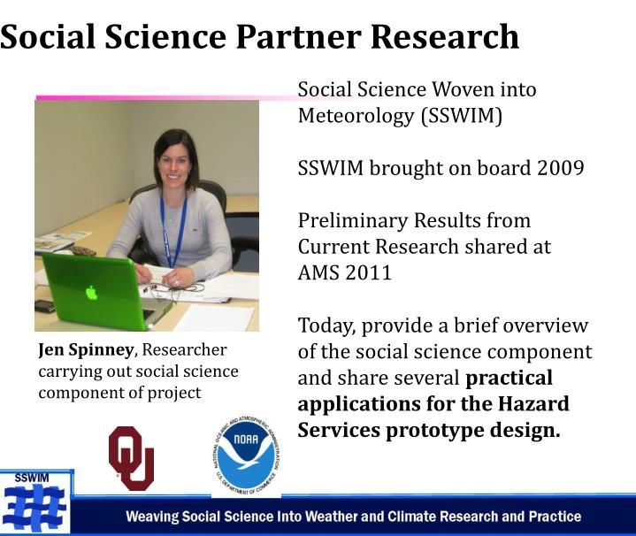 Social Science Partner Research