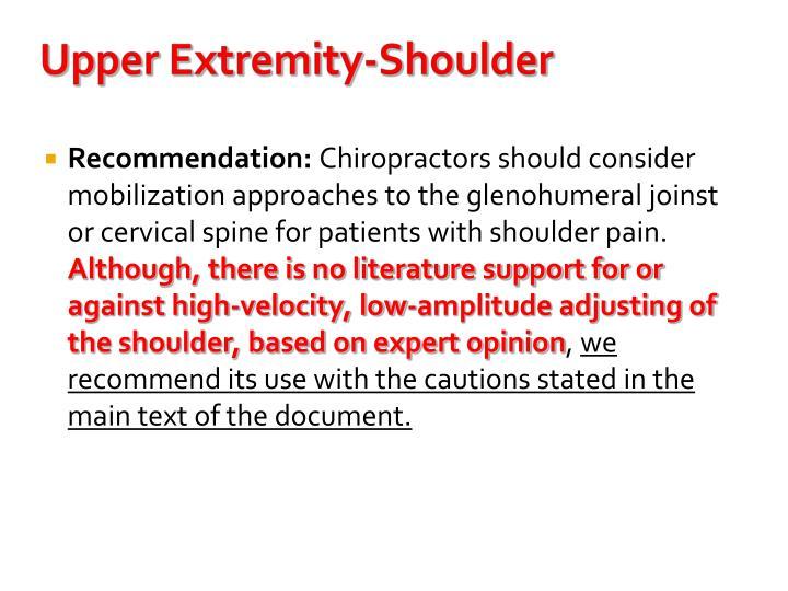 Upper Extremity-Shoulder