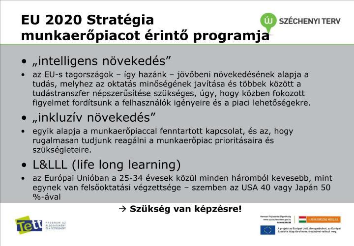 EU 2020 Stratégia