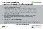 eu 2020 strat gia munkaer piacot rint programja
