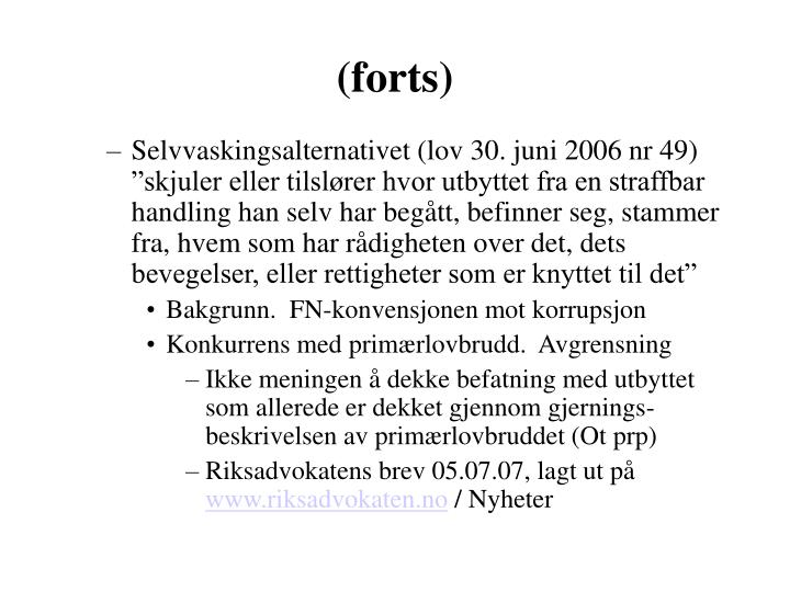 (forts)