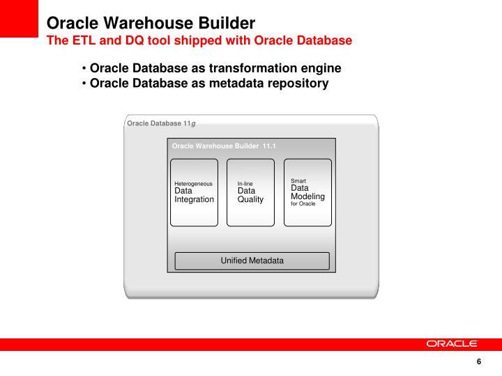 Oracle Warehouse Builder