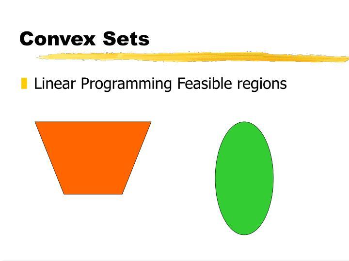 Convex Sets