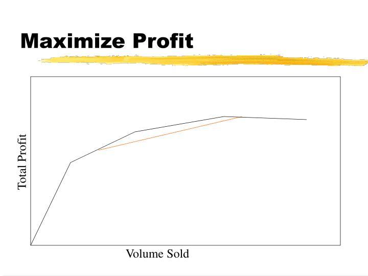 Maximize Profit