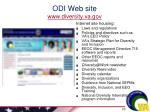 odi web site www diversity va gov