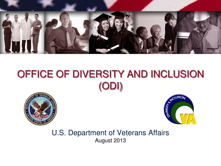 Office of diversity and inclusion odi