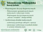 telemedycyna wielkopolska rozw j systemu2