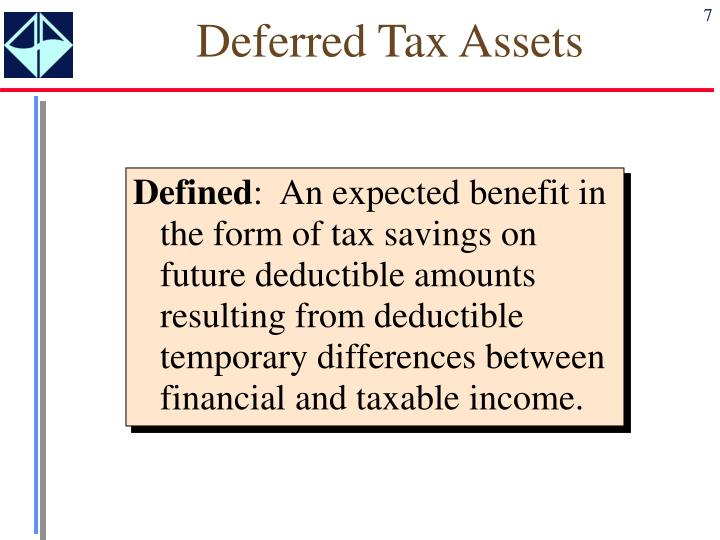 Deferred Tax Assets