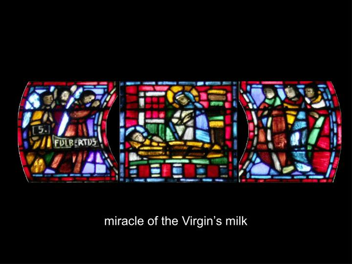 miracle of the Virgin's milk