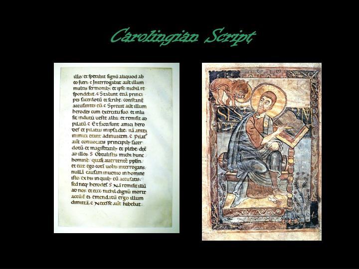 Carolingian Script