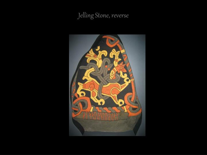 Jelling Stone, reverse