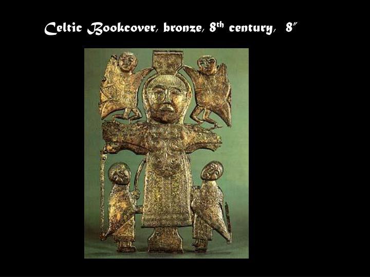 Celtic Bookcover, bronze, 8