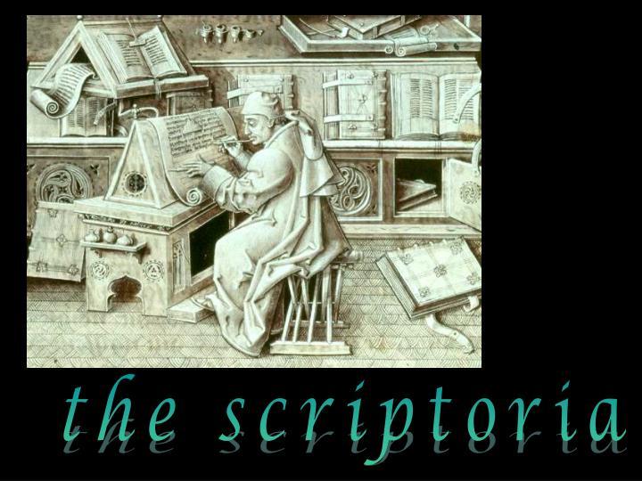 the scriptoria