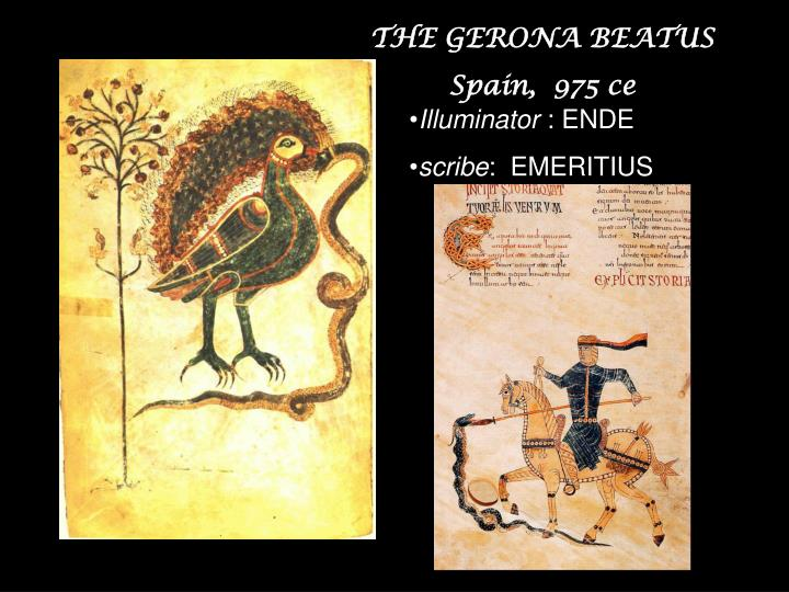 THE GERONA BEATUS