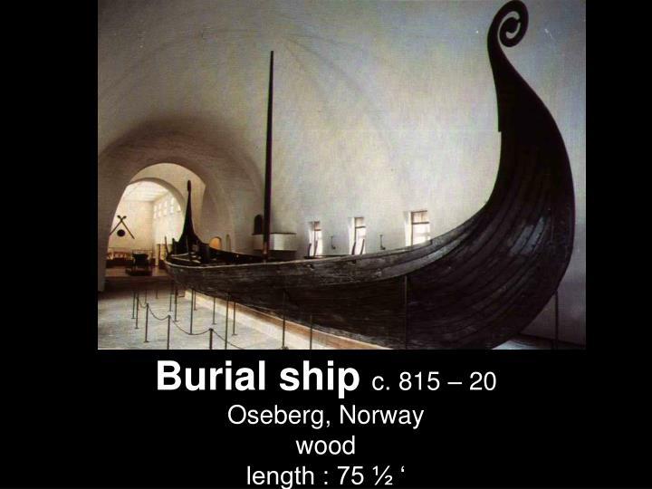 Burial ship