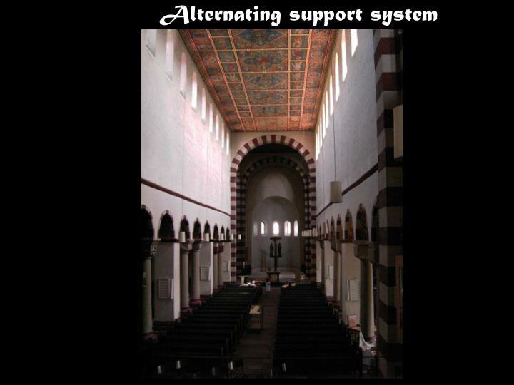 Alternating support system