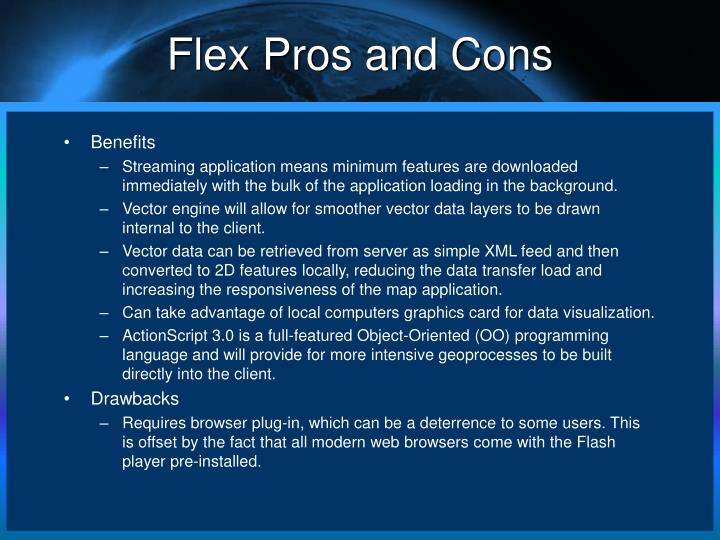 Flex Pros and Cons