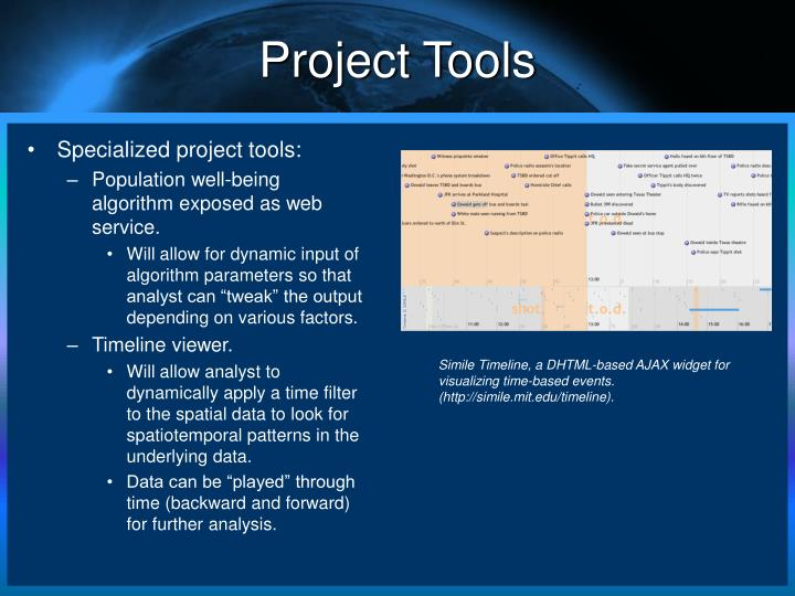 Project Tools