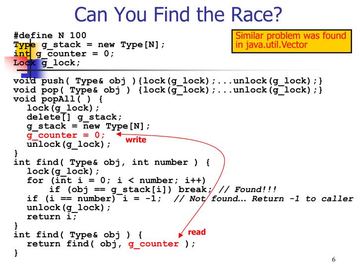 Can You Find the Race?